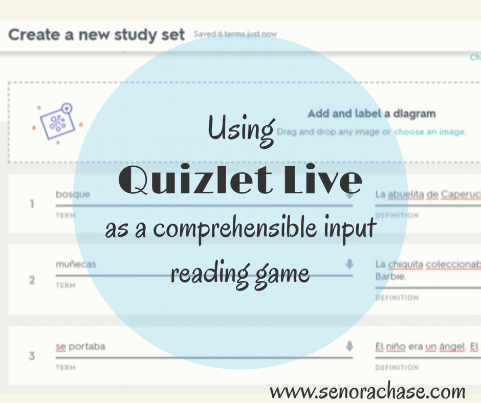 Quizlet Live, a reading game – Loading up my little darlings