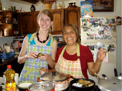 Cooking with Loyda