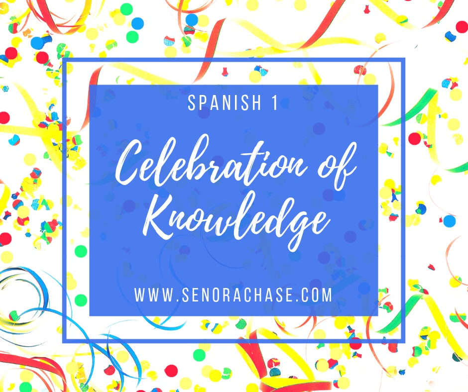 "Spanish 1's first ""Celebration of Knowledge"" AKA Test – Loading up"